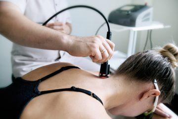Lazerinės terapijos medicinos prietaisas